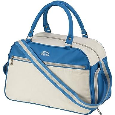 SLAZENGER Retro Sports Bag Light Blue