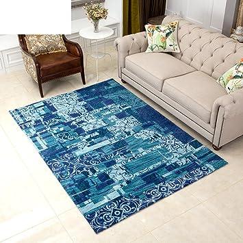 Wohnzimmer Dekoration Teppich,Modern Muster Teppich Ultra Thin Schlafzimmer  Wohnzimmer Teppich Europ?ischer Stil Sofa Teetisch Matten D ...
