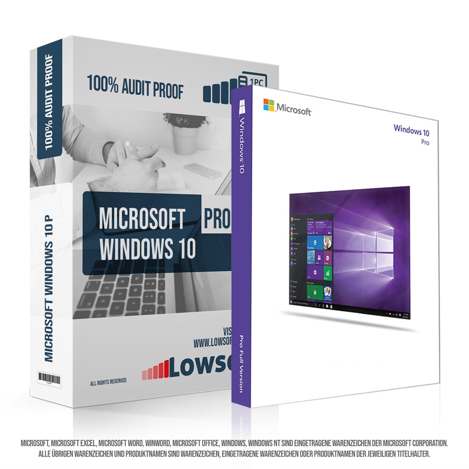 0cd22b7b9da1cf WINDOWS 10 PRO 64 BIT (NO HOME UPGRADE) – Licenza Elettronica inviata in  giornata tramite email Amazon – (NESSUNA SPEDIZIONE POSTALE nè CD/DVD)
