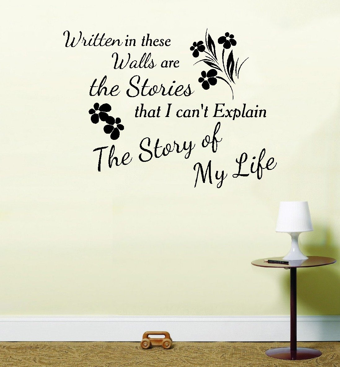 One Direction 1 D Story Of My Life Song Music Vinyl Sticker Wall Art  (Black, 1): Amazon.co.uk: Kitchen U0026 Home Part 39