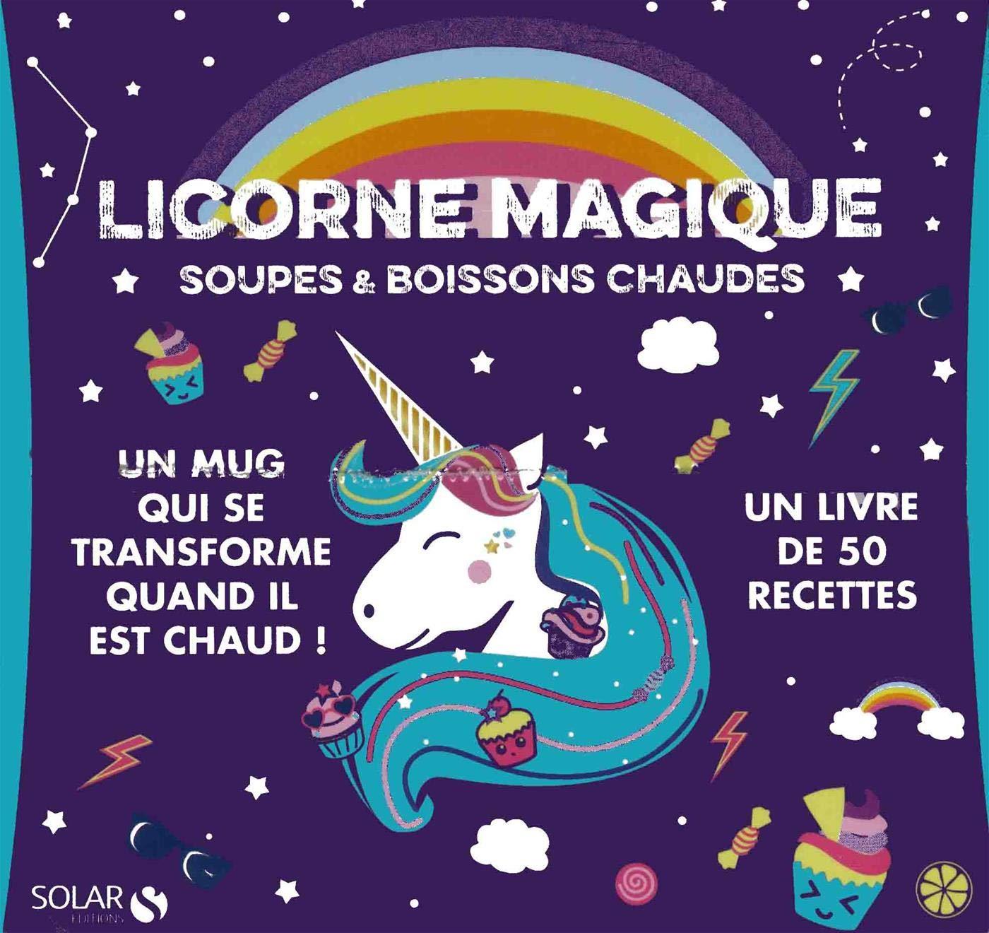 Coffret Licorne magique - Soupes & boissons chaudes