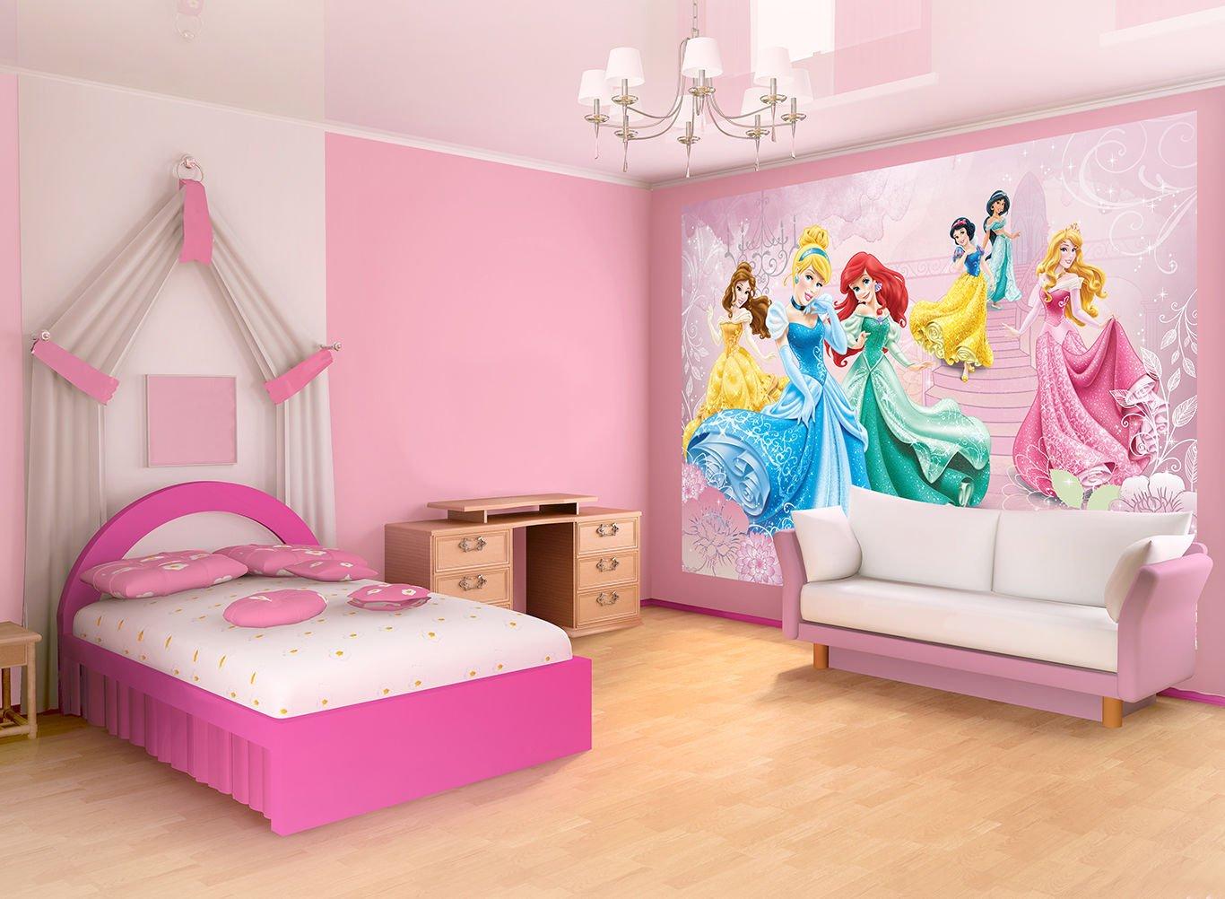Camerette disney principesse completo lenzuola for Amazon camere da letto complete