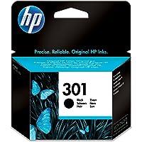 HP 301 CH561EE Cartuccia Originale, 190 Pagine, per HP DeskJet Serie 1000, 1050 1500, 2000, 2050, 2500, 3000 e 3050, HP…