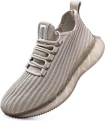 SANNAX Scarpe da Ginnastica Uomo Sportive Running Fitness Sneakers Traspiranti Outdoor Respirabile Casual Moda Corsa Leggero Allenamento Camminata Jogging Scarpa da Ginnastica Corsa su Strada