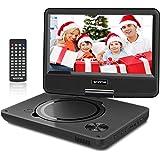 """WONNIE 2020 Upgrade 11.5"""" Lecteur DVD Portable avec écran Rotatif de 9,5"""" à 270°, Inte Carte SD et Prise USB avec…"""