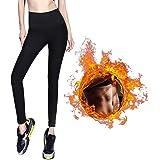 AILEDA Pantalones para Adelgazar,Pantalones Deportivos Mujer, Pantalón de Sudoración Adelgazar, Leggings Push Up, Mallas Term