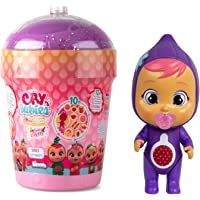 Cry Babies Magic Tears Tutti Frutti - Mini poupée parfumée aux Fruits et Qui pleure, à collectioner - Modèle Aléatoire