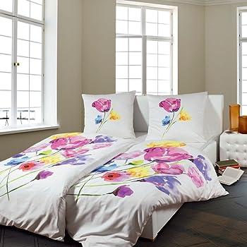 Janine Design Mako-Satin Bettwäsche modern art 135x200 cm