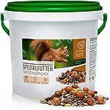 Nourriture pour Écureuils 1 kg pour Écureuils et Tamias - Mélange d'aliments de Première Qualité, Adapté à l'espèce et Toute