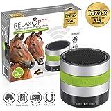 RelaxoPet Entspannungsgerät   Pferde; Version ECO   Beruhigung durch Klangwellen   Ideal bei Stallunruhe, Stress oder bei Transporten   Hörbar und unhörbar   5V, kabellos