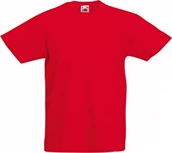 Fruit of the Loom Kids Original T Shirt - 21 Colours/Age 3-15 Years