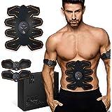 8 Pads Abs Stimulator Buikspiertrainer - USB oplaadbaar - EMS Sixpack trainer voor mannen & vrouwen om thuis te trainen - Met