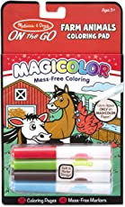 Melissa & Doug On The Go Magicolor Coloring Pad - Farm Animals, Multi Color