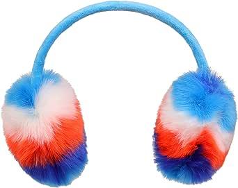 M/ädchen Winter Kinder Einhorn Ohrensch/ützer Winter Kunstfell Ohrw/ärmer Ohrenschutz mit niedlichen Pailletten Ohren