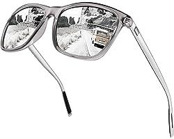 CGID Polarised Sunglasses Men Women Al-Mg Metal Temple Ultra Light UV400 Driving Shades MJ33