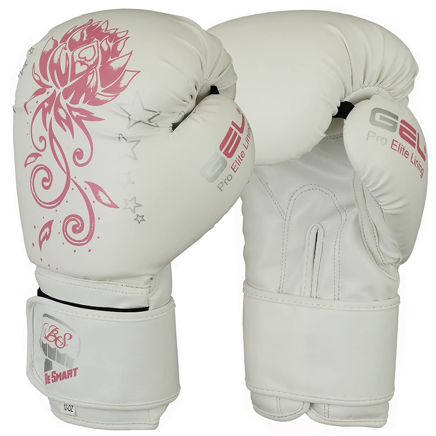 Ultra Fitness Kinder Boxhandschuhe 4oz Flachmann 8oz Junior Jugend Boxsack MMA Training Muay Thai Pad