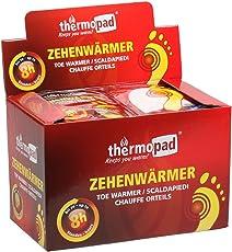 Thermopad Zehen-Wärmer | Angenehme Wärme für die Zehen | 37°C | ultra dünne Heiz-Pads | sofort einsetzbar | 8 Stunden intensive Wärme  | 30 Paare