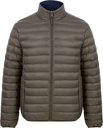 Tokyo Laundry Men's Inigo Funnel Neck Quilted Puffer Jacket