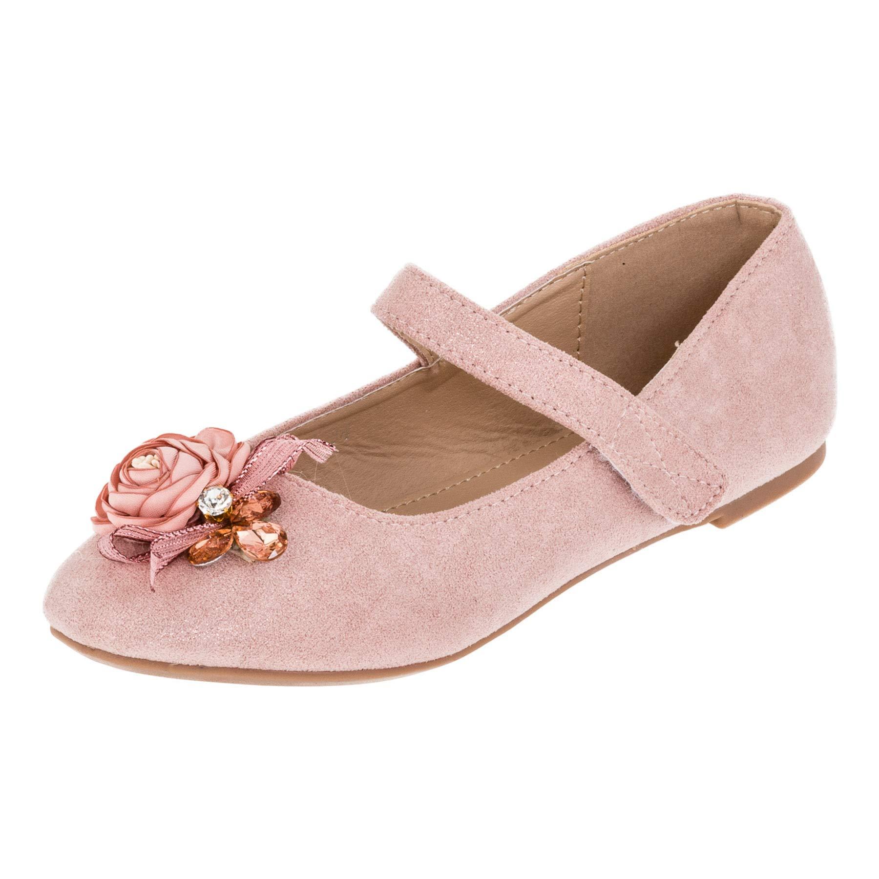 0f229ef51ed827 Doremi Edle Festliche Kinder Mädchen Prinzessinnen Schuhe Ballerinas ...