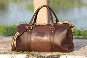 JAIS BOY Duffel Bags Travel Duffel Bags Weekender Bags Pu Learther(18 inch/20ltrs)