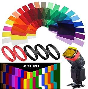 Zacro 20 Stück Farbe Correction Filter Für Kamera Kamera
