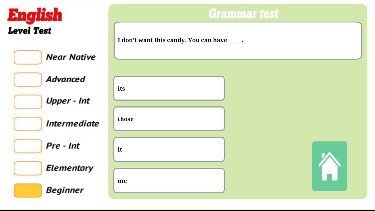 Sprachlevel-Test Englisch +: Amazon.de: Apps für Android