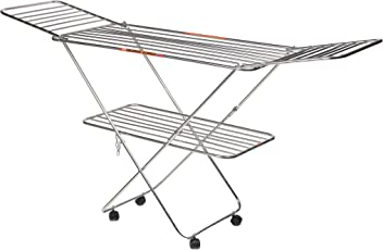 Vasnam butterfly stainless steel 25 rod cloth drying stand