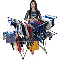 TNC;WORLD OF MODERN UTILITY PRODUCTS 2 Tier 4 Tray Height Adjustable Butterfly Type Cloth Dryer / Drying Rack / Stand
