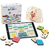 Marbotic - Smart Shapes pour iPad - Age : 3 Ans et Plus - Formes & Couleurs Interactives en Bois - Jeux Éducatifs Manuels - D