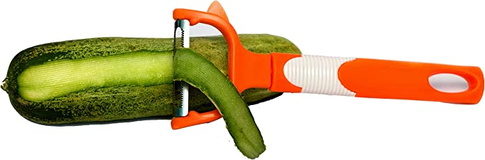 Vegetable Peeler for Kitchen Stainless Steel Sharp Blade Peels Potatoes Cucumburs Carrots Vegetables Smoothly