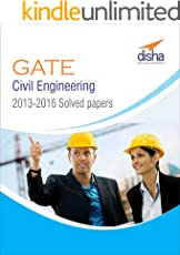 GATE Civil Engineering 2013-16 Past Solved papers
