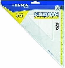 Lyra Noflash Squadra  16cm/45° in busta PVC