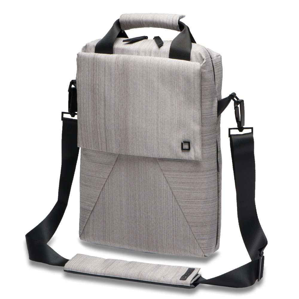 Dicota Code Sling Bag 11- 13 13 Messenger case Grey - notebook cases (33 cm (13), Messenger c