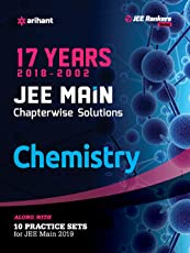 17 Years' Chapterwise Solutions Chemistry JEE Main 2019