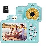 Vannico Camara de Fotos para Niños, Camara para Niños Video Cámara Infantil 8MP 1080P HD 16GB Tarjeta de Memoria Incluida (Az