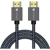 Cavo HDMI 3m, iVANKY Cavo HDMI 4K Ultra HD, HDMI 2.0 alta velocità, Supporta Ethernet, 3D, HDR, ARC, video 4K 60Hz e…