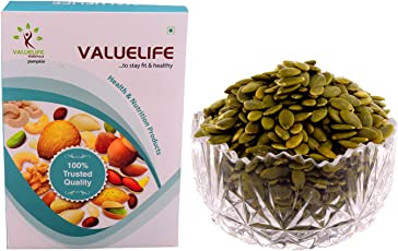 Pumpkin Seeds of Natural and Best Quality by Value Life - 250g