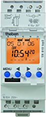 Theben Digitale Zeitschaltuhr mit Wochenprogramm TR 610 t Reiheneinbaugerät, 6100100