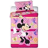 Disney 094 Mouse Minnie Baby Biancheria Letto 100 x 135cm