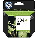 HP 304XL Cartouche d'encre originale pour imprimante Grande capacité Noir