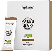 foodspring Organic Paleo Fruit Bar, Coconut, 12-Pack, Vegan Raw Food