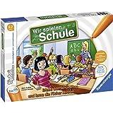 Ravensburger tiptoi Spiel 00733 Wir spielen Schule, Spiel von Ravensburger ab 5 Jahren für 1-4 Spieler, Erlebe interaktiv ein