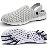 Mens Womens Breathable Mesh Beach Sandals Shoes Anti Slip Garden Clogs Summer Slippers Outdoor Sports Casual Shoes Flip Flops