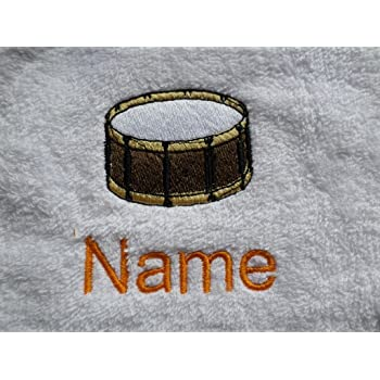 Hand Towel 50x90cm Bath Towel or Bath Sheet Personalised with a GHOSTBUSTERS logo and name of your choice EFY Hand Towel