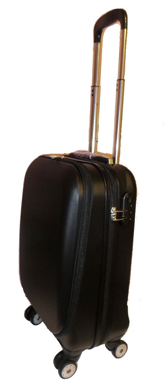 ABS Hard Shell Laptop Cabin Case 55x40x20cm Wheels Ryanair Onboard ...