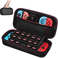 Case for NS Switch/Switch OLED - Younik Hard Travel Carrying Case with Large Storage Space for 19 Game Cartridges and…