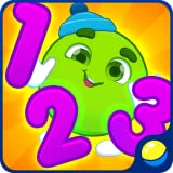 Zahlen und Formen lernen für Kleinkinder - Lernspiel für die frühe Erziehung Ihres Babys, in dem kleine Kinder Zahlen von 1 bis 9 und geometrische Formen gemeinsam in Englisch, Spanisch (und anderen Sprachen) lernen