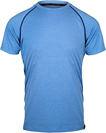 Sundried Men's Premium Gym T-Shirt Sports Shirt Athletic Clothing Workout Clothes Training Running Fitness