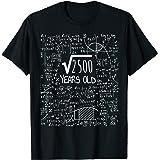 50° compleanno - Radice quadrata di 2500: 50 anni Maglietta