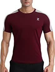 Azani Men's Strike Anti-Odor Dry Fit Running & Training Tshirt